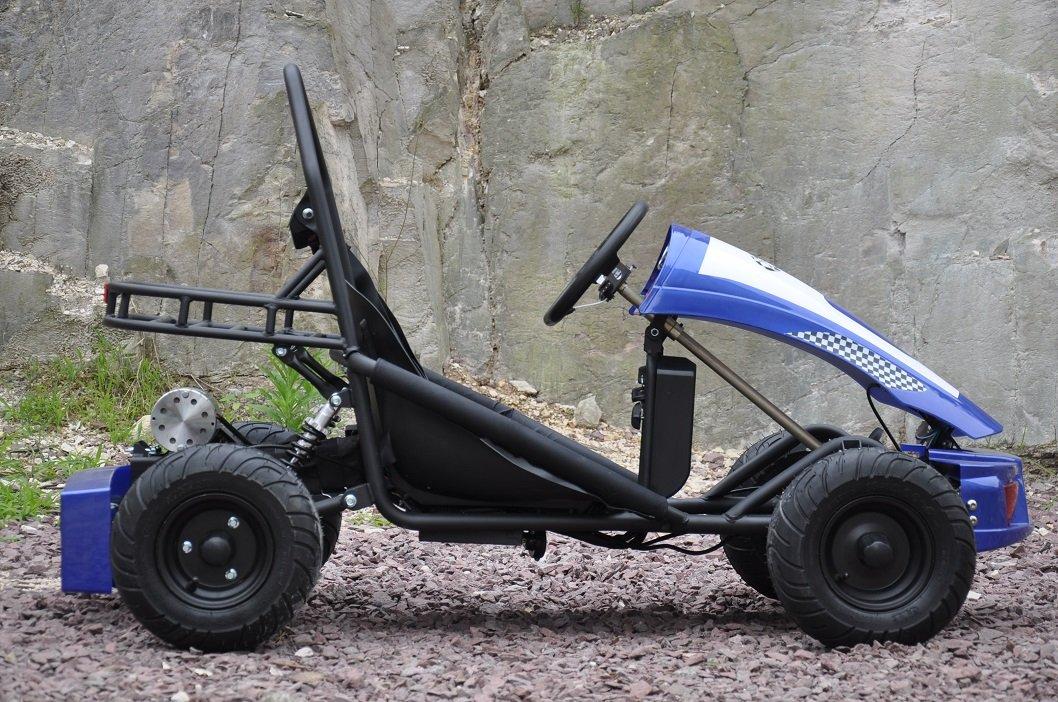 Kart Eléctrico 36V 500W Azul