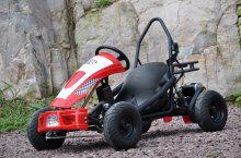 Kart Eléctrico 36V 500W Rojo vista principal