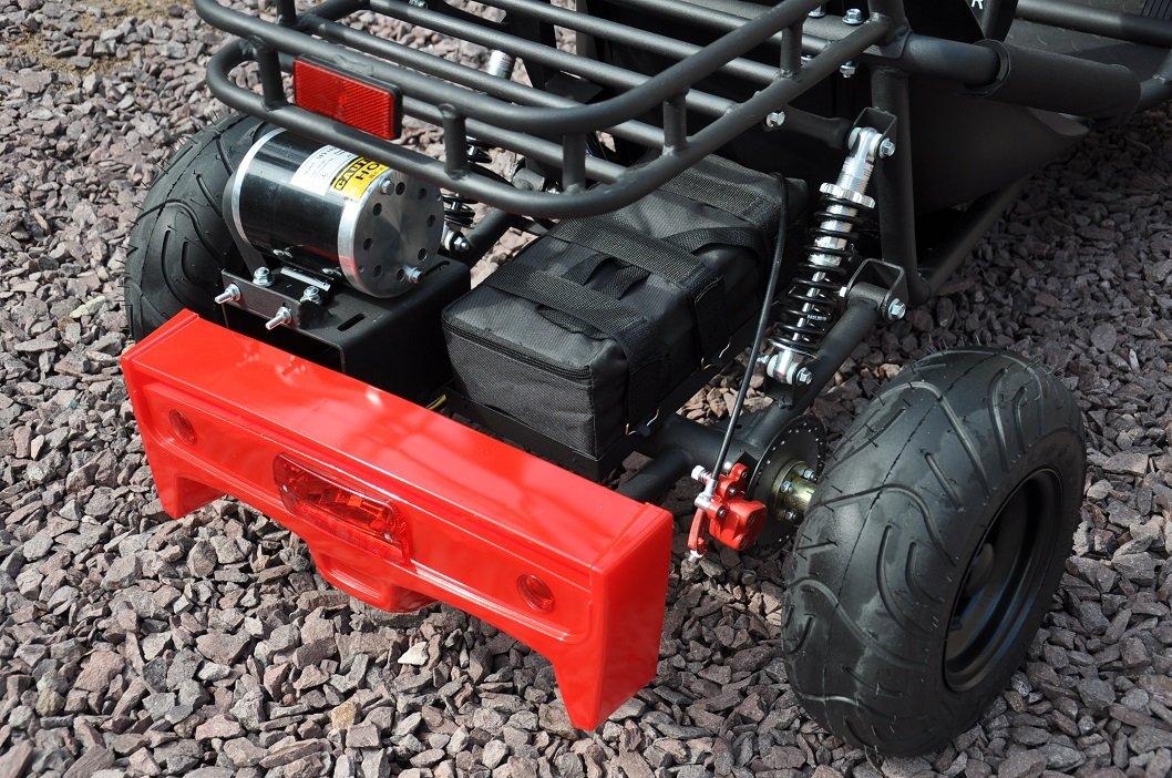 Kart Eléctrico 36V 500W Rojo