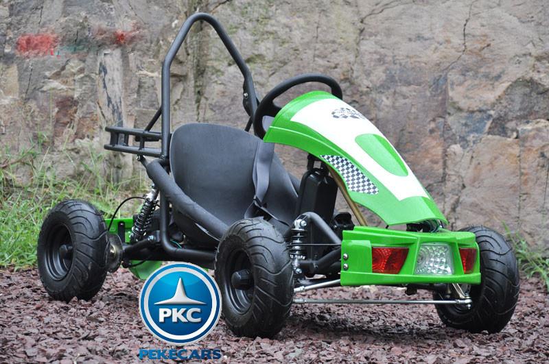 Kart Eléctrico 36V 500W Verde