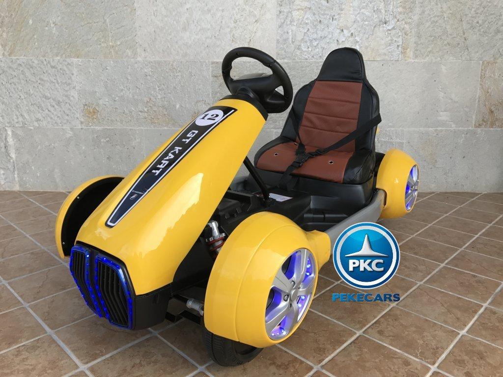 Kart eléctrico para niños FC-8818 Amarillo vista principal