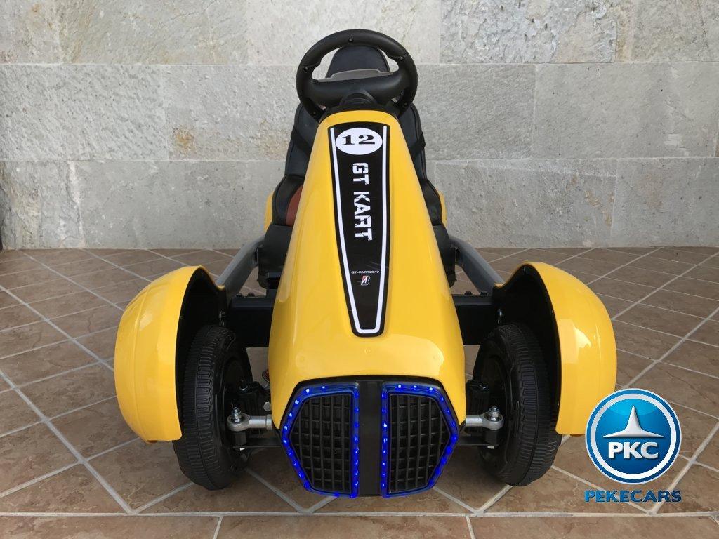 Kart eléctrico para niños FC-8818 Amarillo frontal