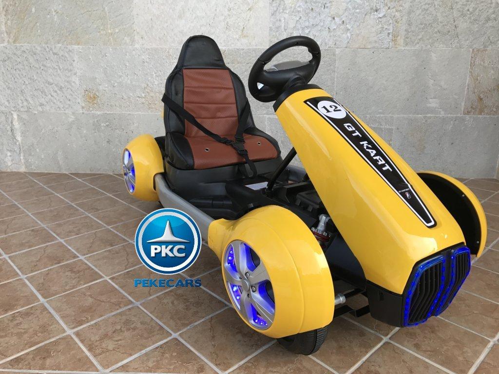Kart eléctrico infantil FC-8818 Amarillo