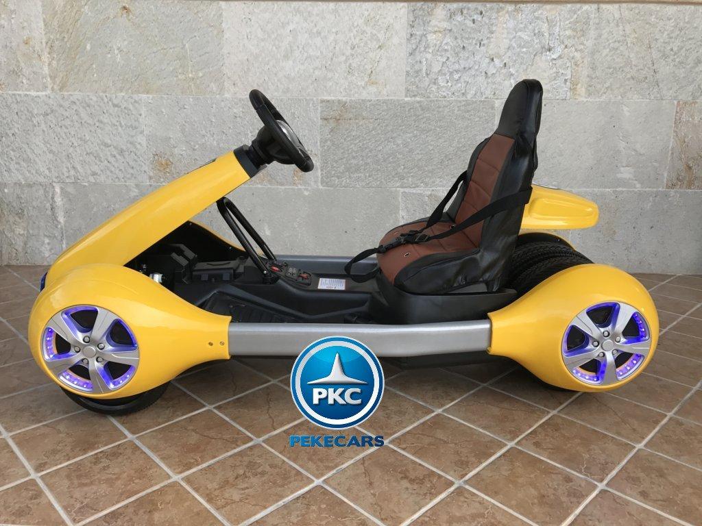 Kart eléctrico para niños FC-8818 Amarillo