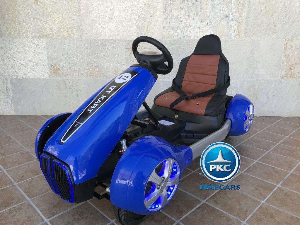 Kart eléctrico para niños FC-8818 Azul vista principal
