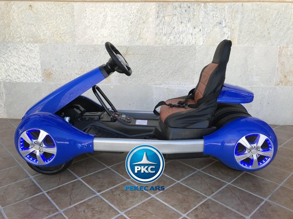 Kart eléctrico infantil FC-8818 Azul