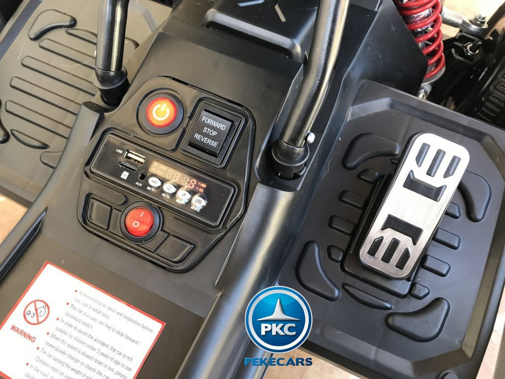 Kart eléctrico para niños FC-8818 Azul conexión USB