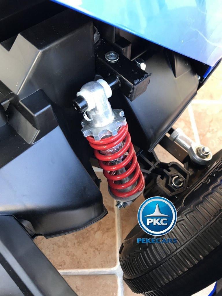 Kart eléctrico infantil FC-8818 Azul amortiguadores