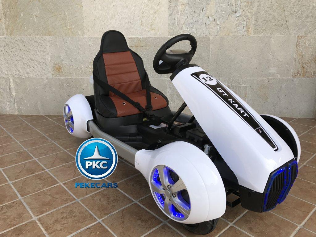 Kart eléctrico para niños FC-8818 Blanco