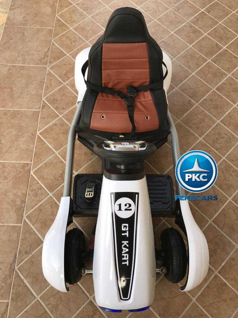 Kart eléctrico infantil FC-8818 Blanco