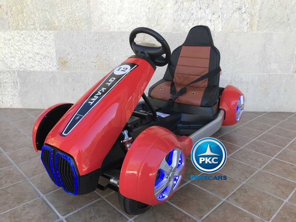 Kart eléctrico para niños FC-8818 Rojo vista principal
