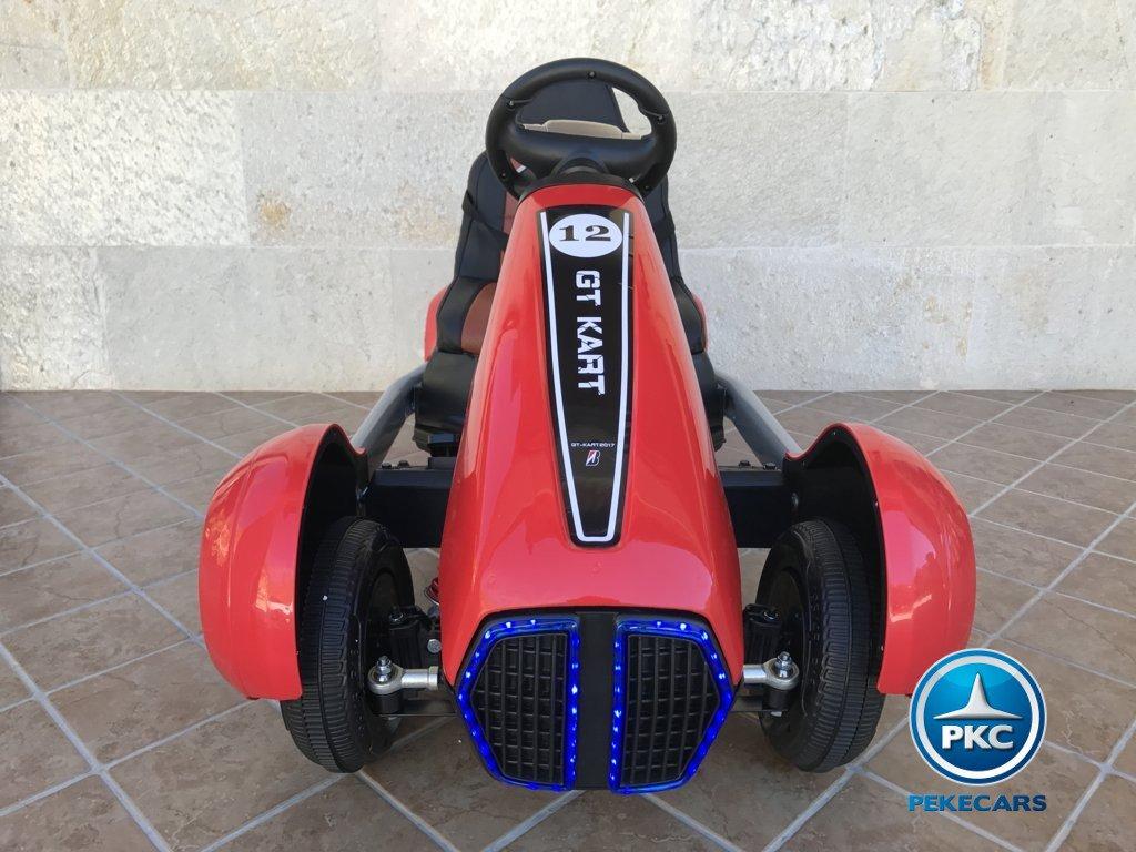 Kart eléctrico infantil FC-8818 Rojo vista frontal
