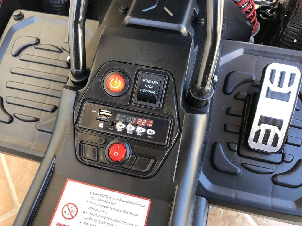 Kart eléctrico para niños FC-8818 Rojo