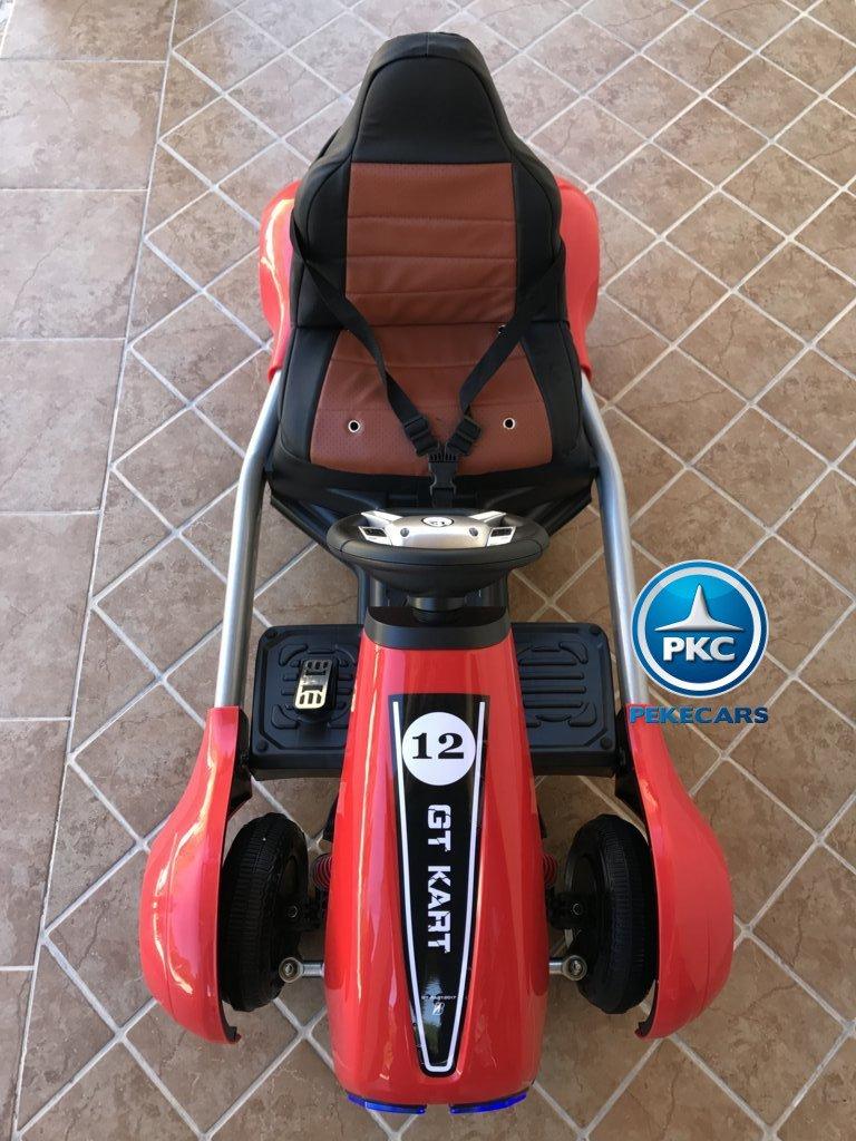 Kart eléctrico infantil FC-8818 Rojo