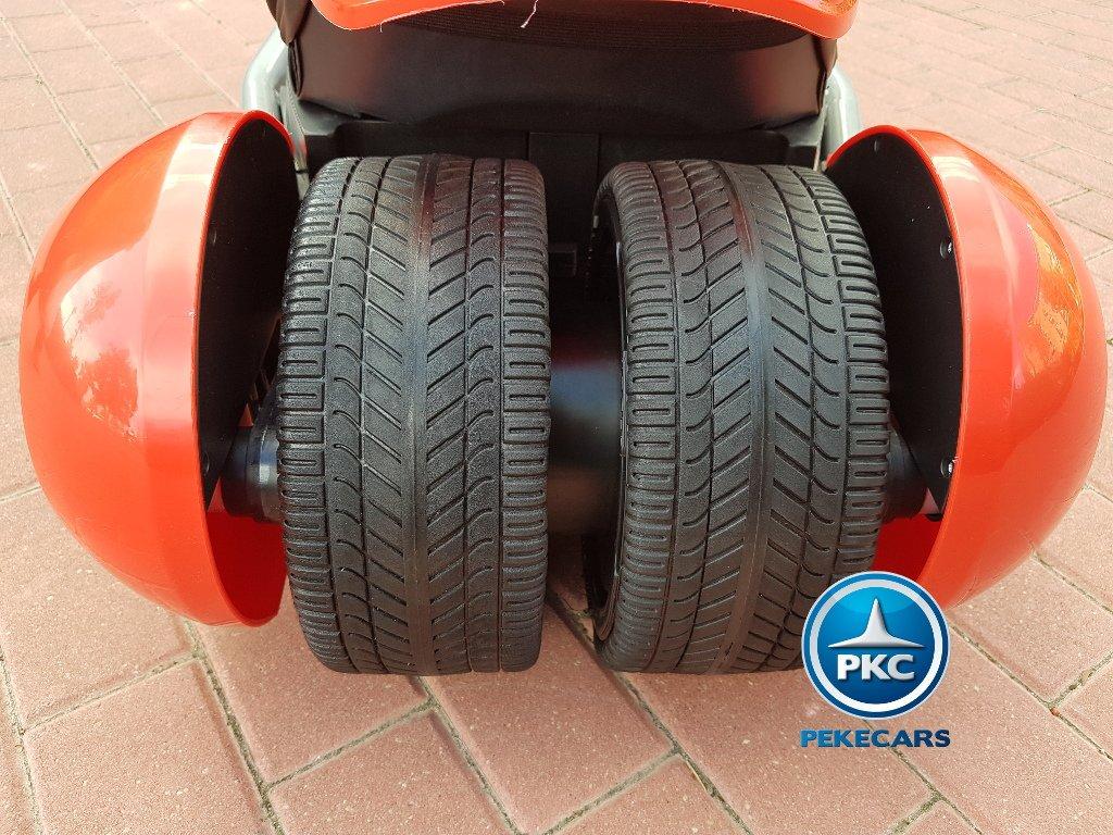 Kart eléctrico para niños FC-8818 Rojo ruedas de caucho antipinchazos