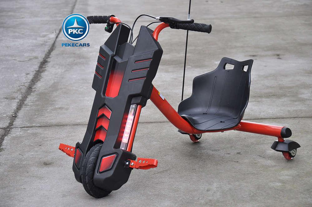 Kart eléctrico Power Drift Trike 12V Rojo