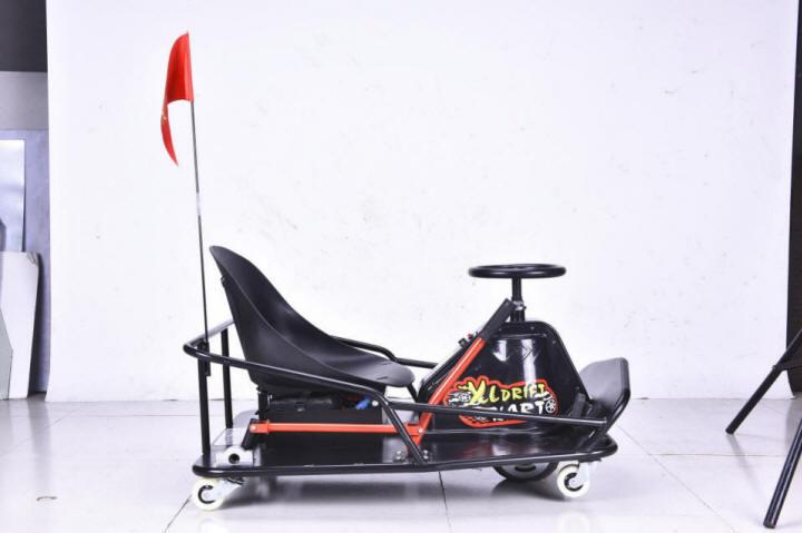 XL Drift Cart con bandera de señalización