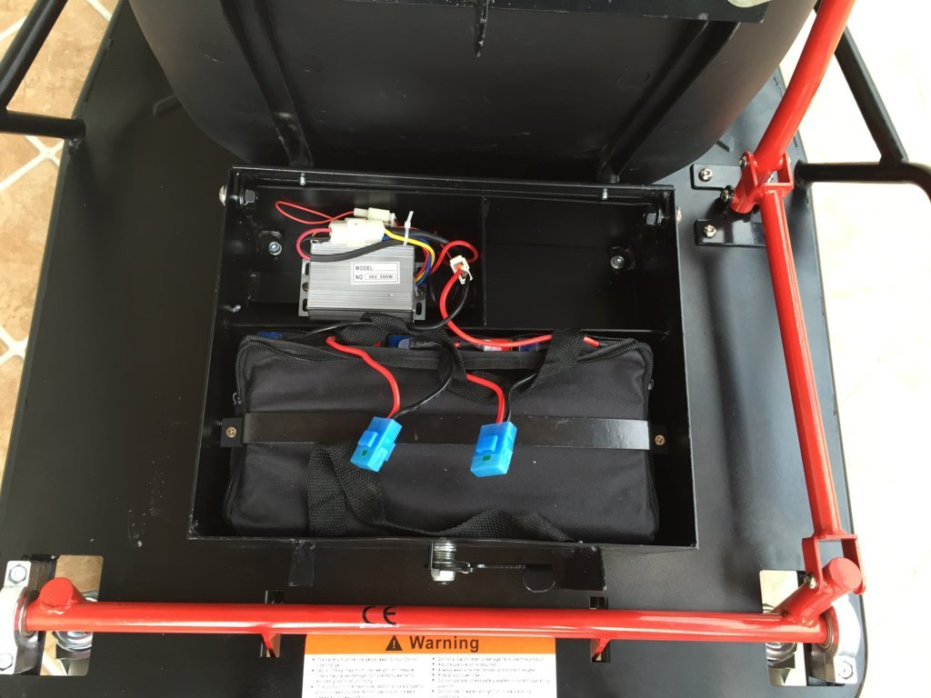 XL Drift Cart baterías