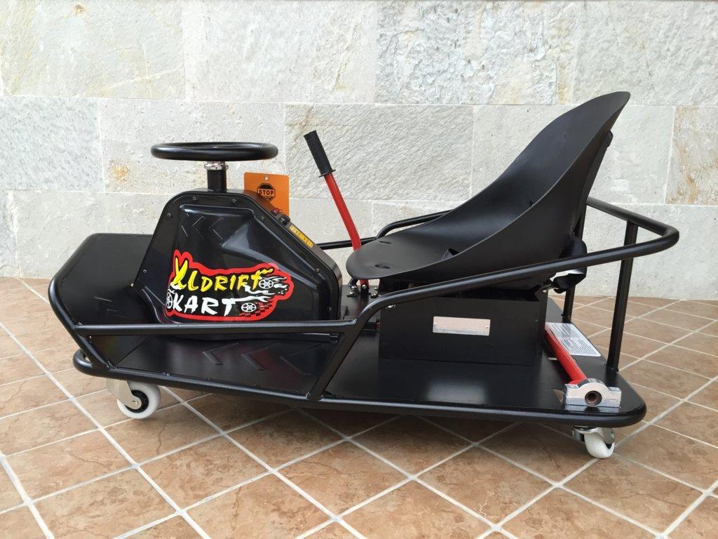 XL Drift Cart vista lateral inversa