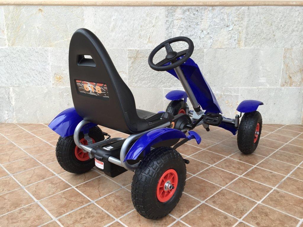 Kart a pedales Pekecars F618 Azul
