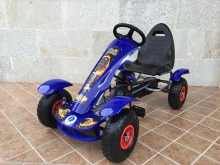 Kart a Pedales Pekecars F618 Blue