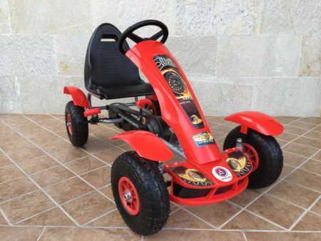 Kart a pedales Pekecars F618 Red