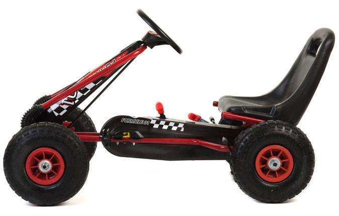 Pekecars Kart a Pedales A15 Vista Lateral