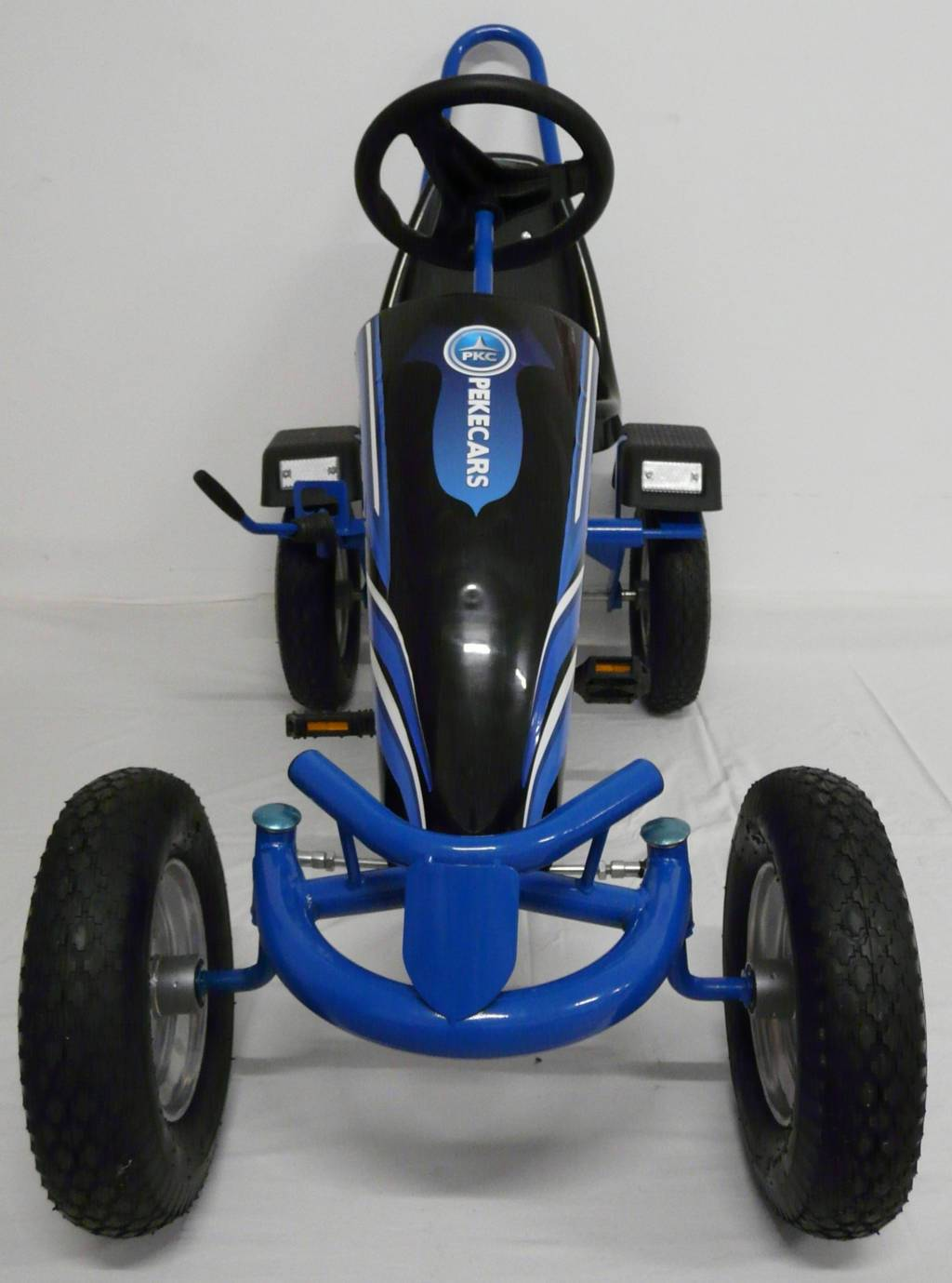 Kart a pedales sport azul Pekecars frontal