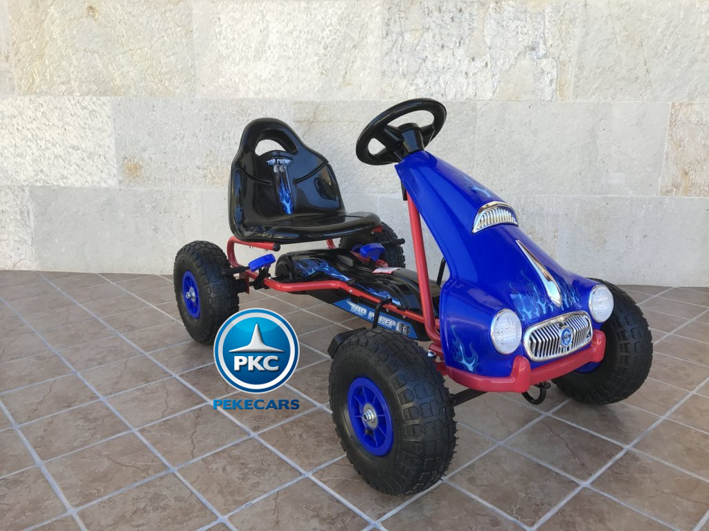 Kart a pedales Flame Azul