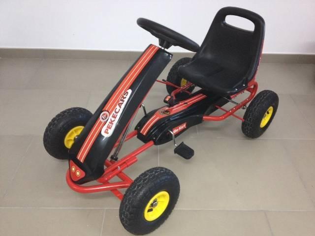 Kart de pedales GC001 rojo vista principal