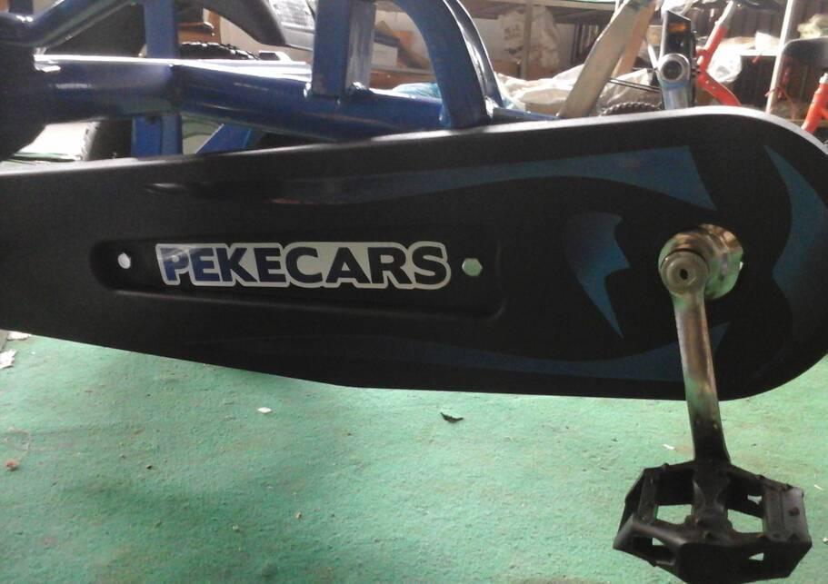 Kart a pedales sport azul Pekecars pedales