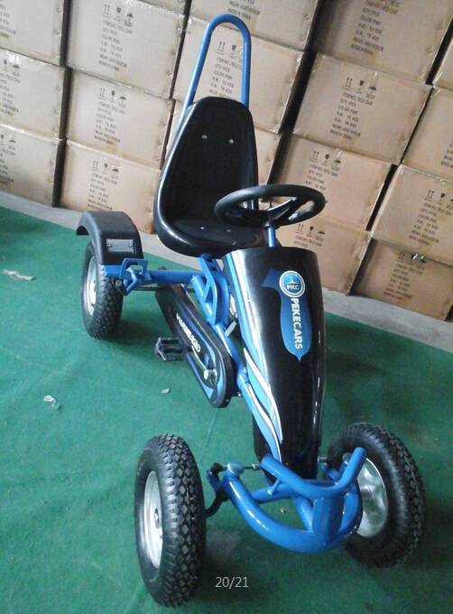 Kart a pedales sport azul Pekecars