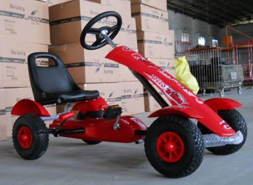 Kart a pedales sport medium rojo