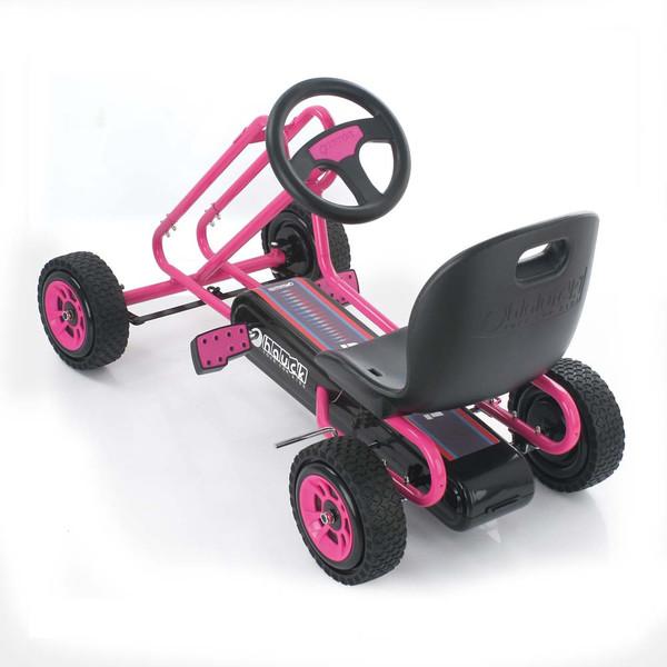 Kart a pedales Lighning Rosa