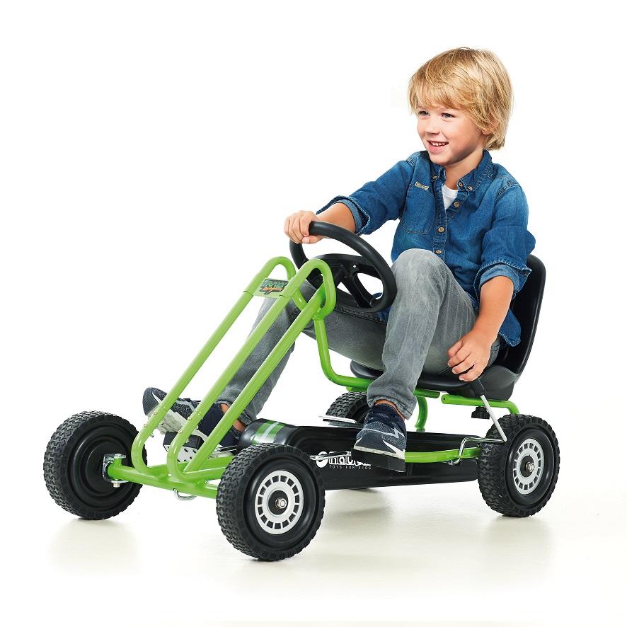 Kart a pedales Lighning Verde