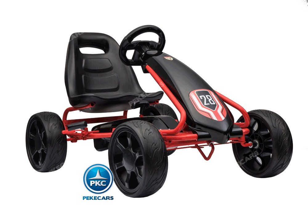 Kart a pedales Champion Black Edition vista principal