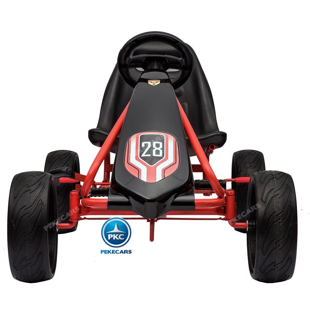 Kart a pedales Champion Black Edition frontal