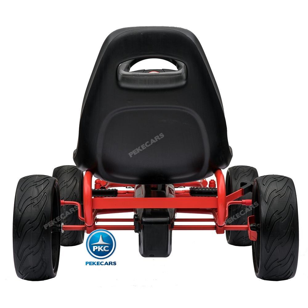 Kart a pedales Champion Black Edition trasera