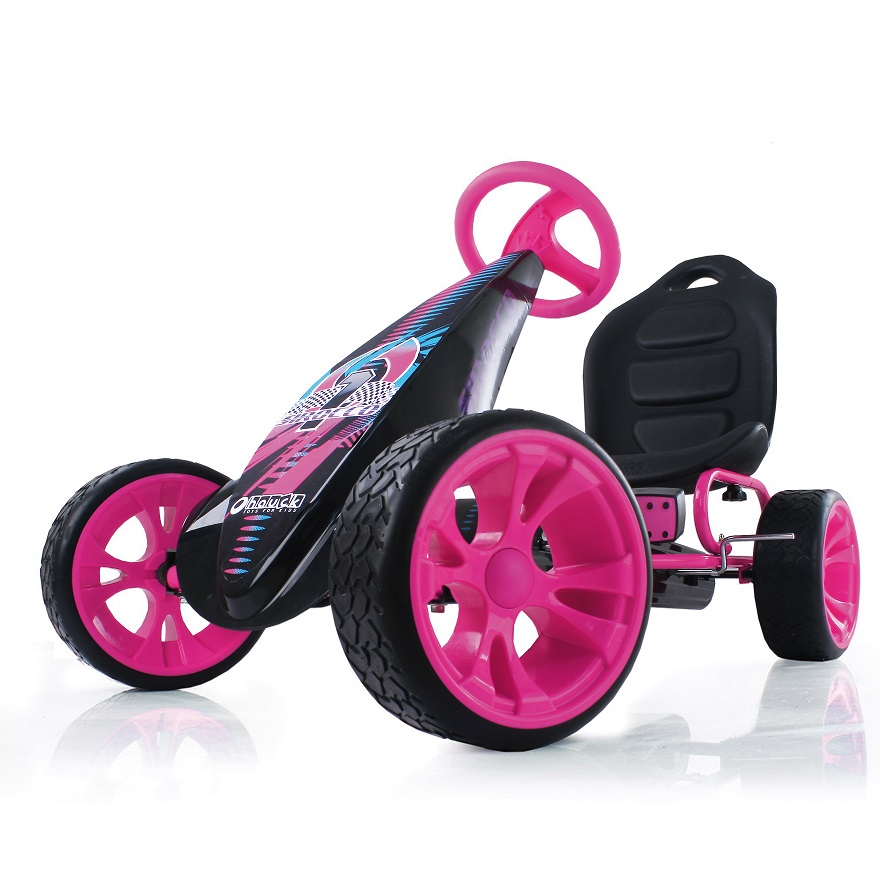 Kart a pedales Sirocco Rosa