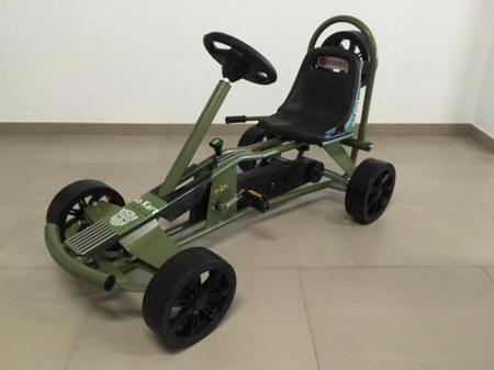 Kart a Pedales Pekecars GC004JP Jeep Style