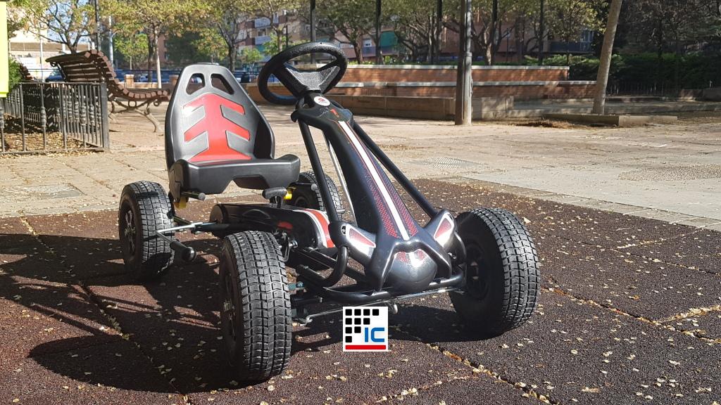 Kart a pedales Racing Car Volare Negro vista principal