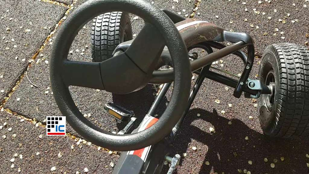 Kart a pedales Racing Car Volare Negro