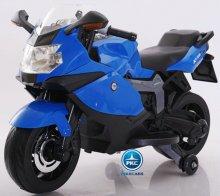 Moto electrica BMW style k1300s Azul