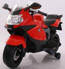 Moto electrica BMW style k1300s roja