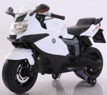 Moto electrica BMW style k1300s blanca