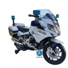 Moto electrica para niños de policia bmw r1200 police 12v vista principal