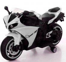 Moto eléctrica R1 12v Blanca
