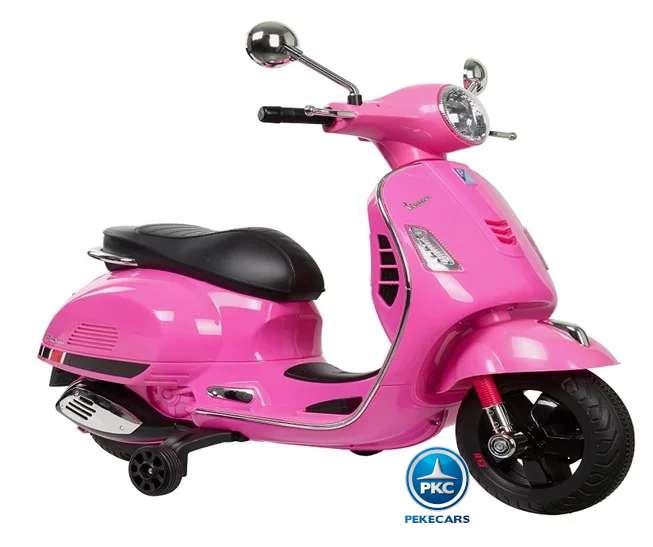 Vespa GTS Piaggio 12V rosa