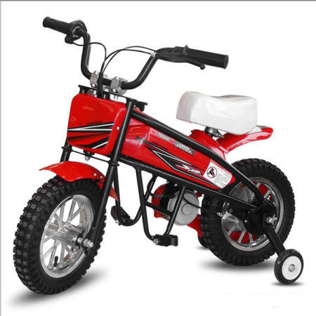 Moto electrica infantil Pekecars 24V 200W Roja vista principal