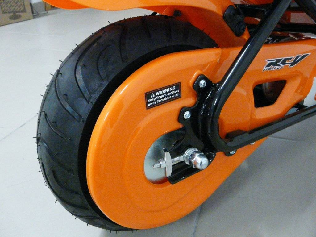 Moto electrica para niños Pekecars 24V 250W Verde